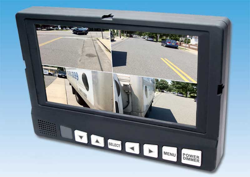10″ Commercial Backup Camera System | GPS Fleet Tracking and DVR ...