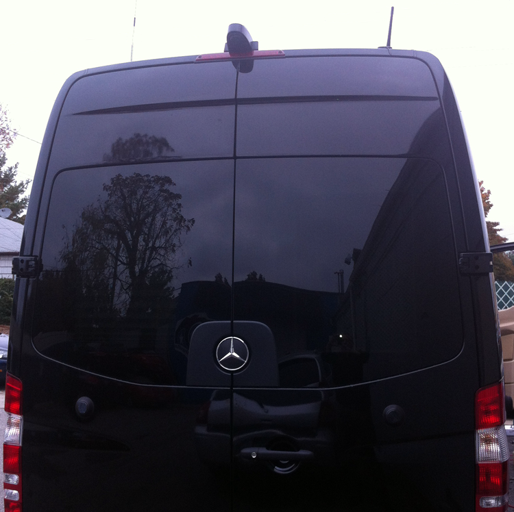 Moss 09r Van And Sprinter Commercial Backup Camera Gps