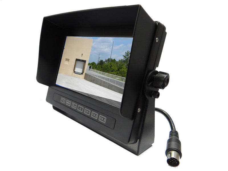 Moss D7001b 7 Automotive Video Monitor Gps Fleet