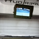 dump truck backup camera monitor