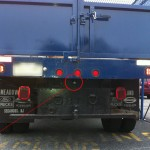 dump truck reverse camera