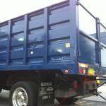 dump truck backup camera