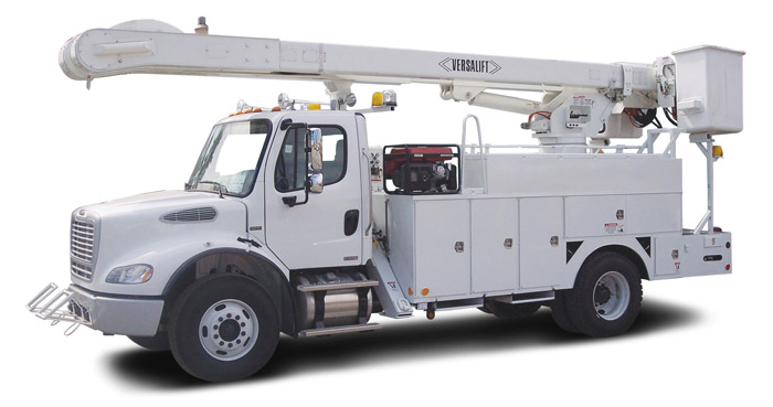 Bucket Truck Quad Backup Camera System Gps Fleet
