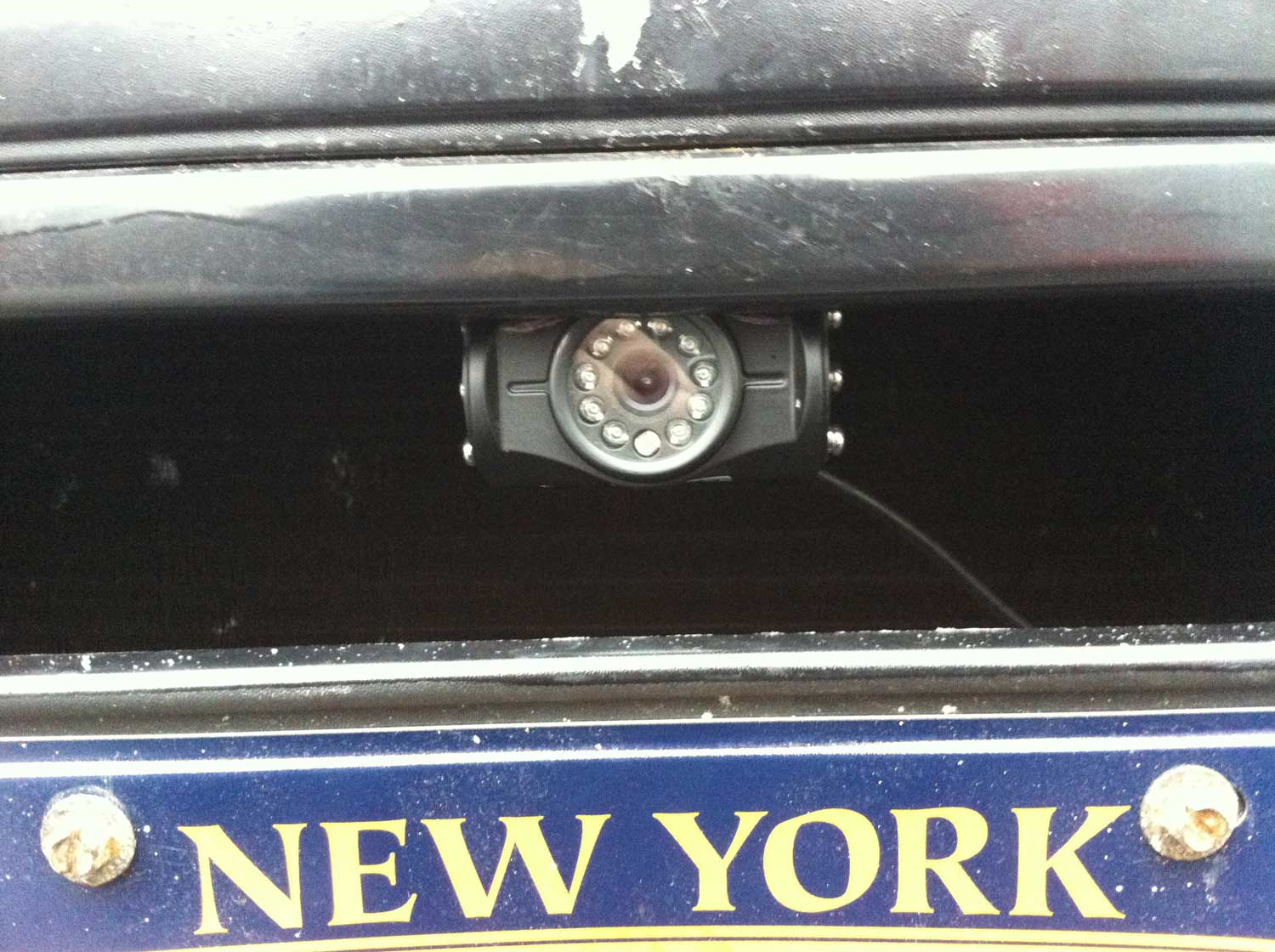 Front Cam Above License Plate Gps Fleet Tracking And Dvr