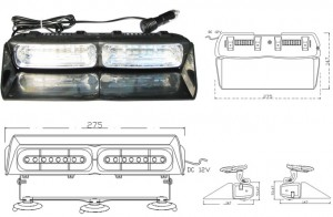 MOSS-18 Dash Light Bar  Spec