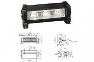 MOSS-21 Singular Mini Modular Light Bar Spec