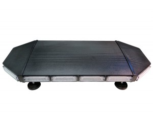 MOSS-8711w LED Mini Roof Light Bar Black Side