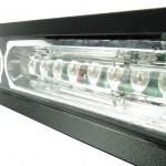 MOSS-9800-6 6-8 LED Modular vehicle Light Bar Angled Close Up
