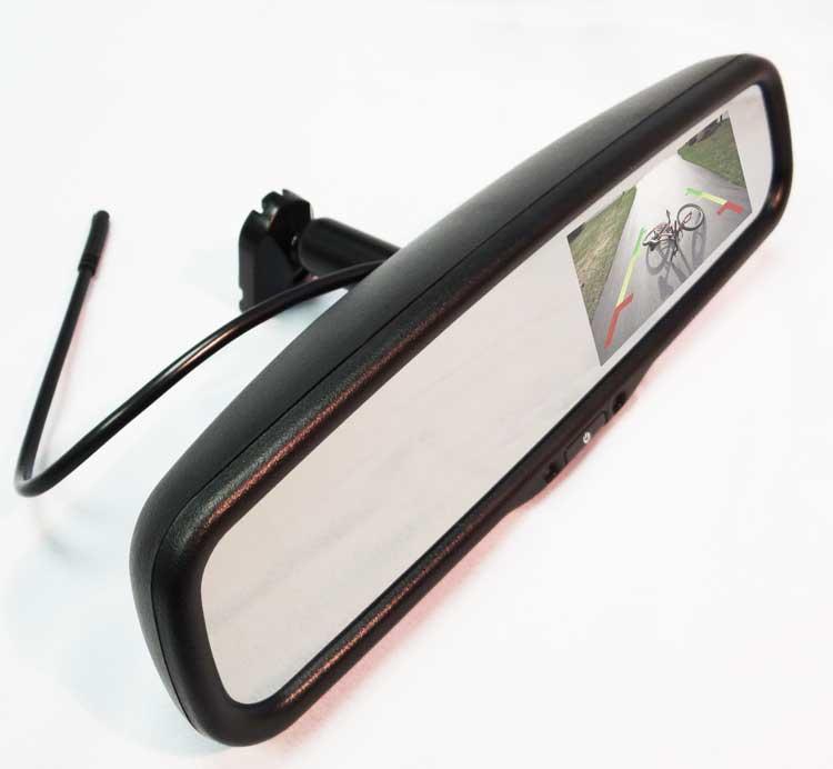 Moss 4118 Rear View Mirror Monitor Gps Fleet Tracking
