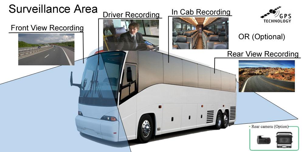 tour bus drive camera
