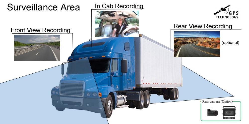tractor trailer drive camera